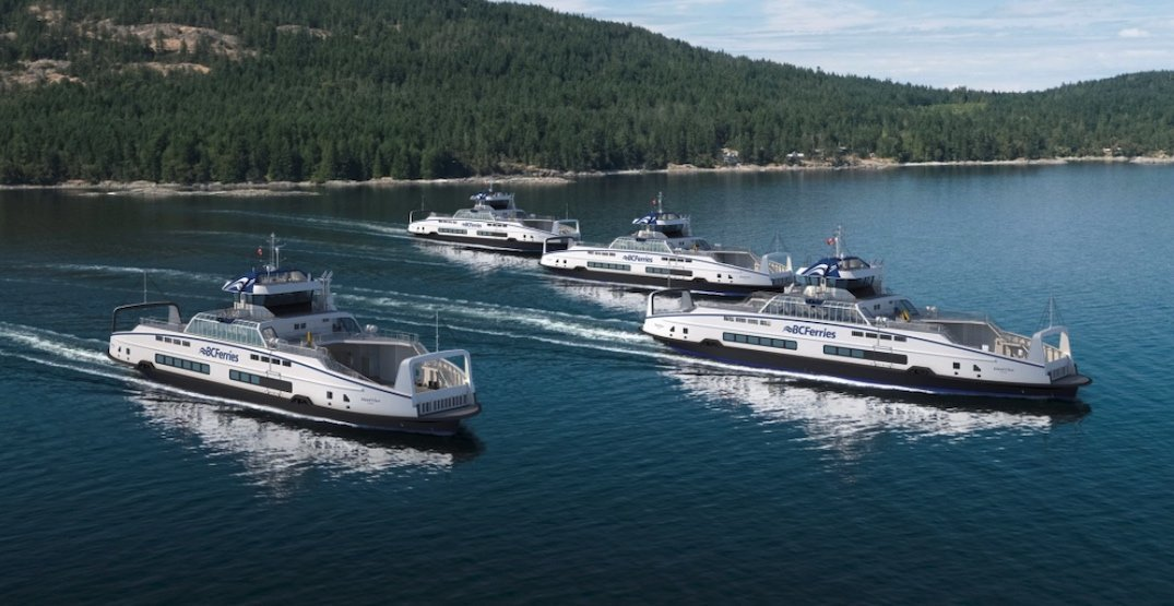 BC Ferries orders 4 new hybrid-electric vessels from Europe for $200 million