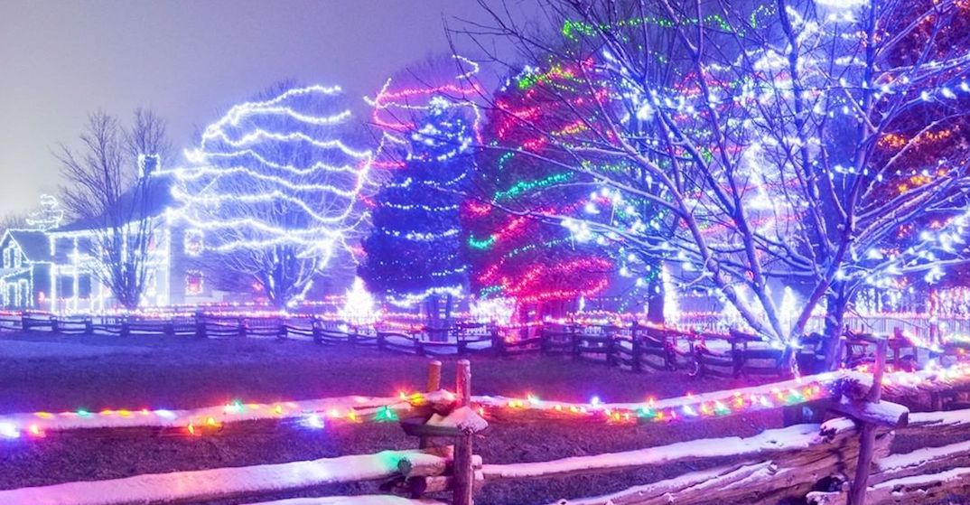 One of Canada's largest outdoor light festivals is just 2 hours outside Montreal (PHOTOS)