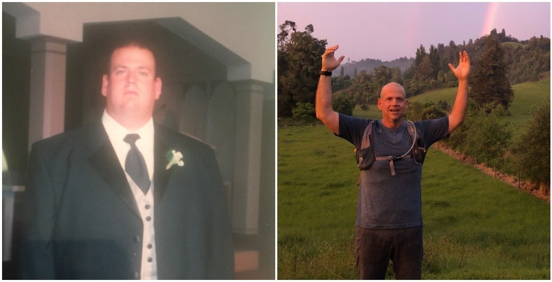 387-pound man competes in first ultra marathon after shedding half his weight