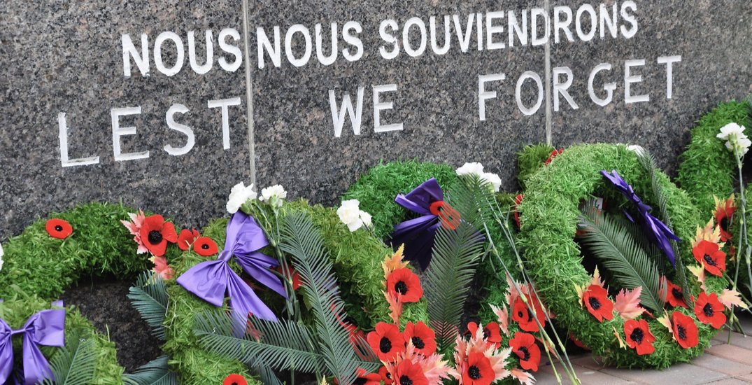 """Vancouver hosting """"modified"""" Remembrance Day ceremonies this year"""