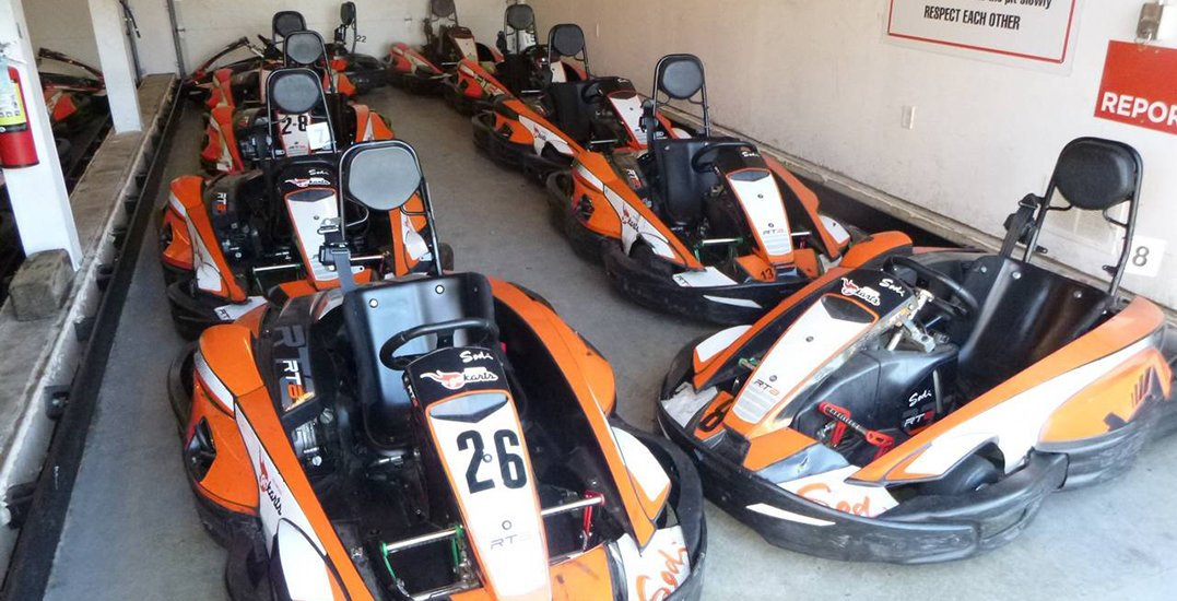 An entire Go-Kart facility is being auctioned off in Richmond next week
