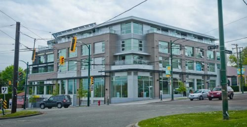 Coast Mental Health's Dunbar Apartments at 3595 West 17th Avenue, Vancouver. (Green Building Brain)