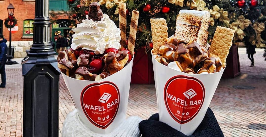 The most festive foods at this year's Toronto Christmas Market