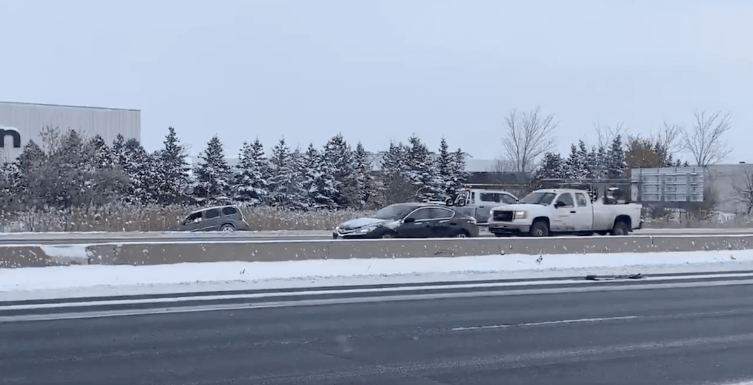 Over 400 crashes reported in the last 24 hours as GTA hammered by snow
