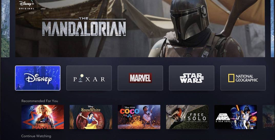 Disney's huge new streaming service launches across Canada today