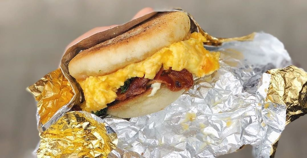 These are the top 5 best breakfast sandwiches in Toronto