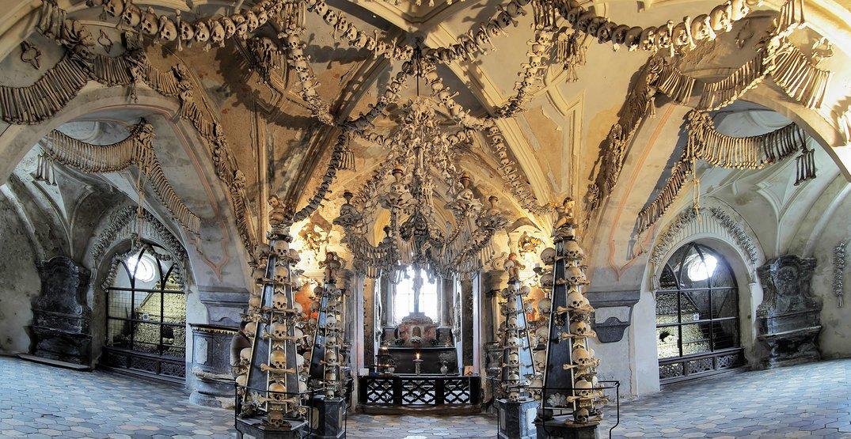 "Selfies banned at Czech Republic's Sedlec Ossuary, aka ""Church of Bones"""