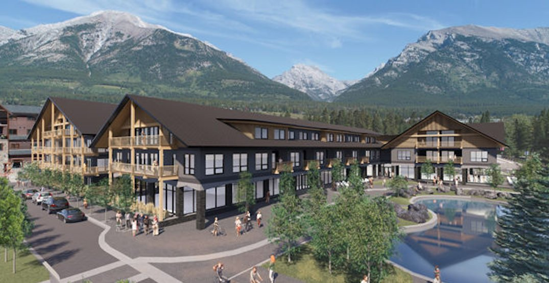 New $50-million vacation property being built in Canmore