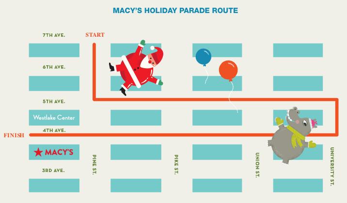 Macy's Holiday Parade Seattle