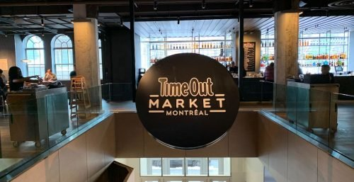 food market Eaton Centre