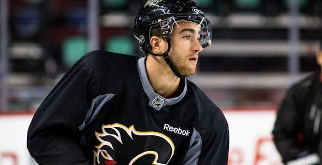 TJ Brodie collapses at Calgary Flames practice, sent to hospital