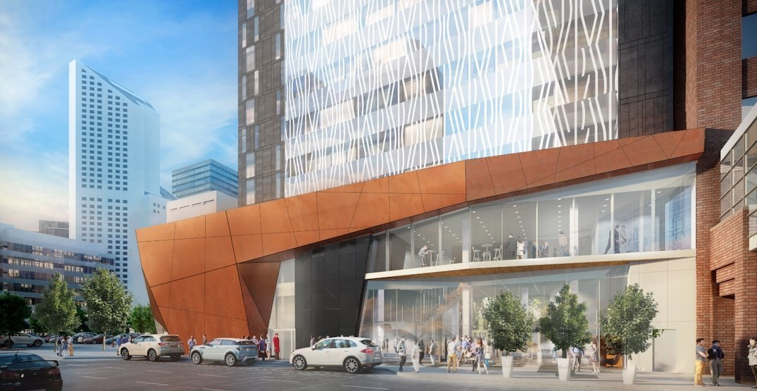 New 27 Storey Luxury Marriott Hotel Being Built In Downtown