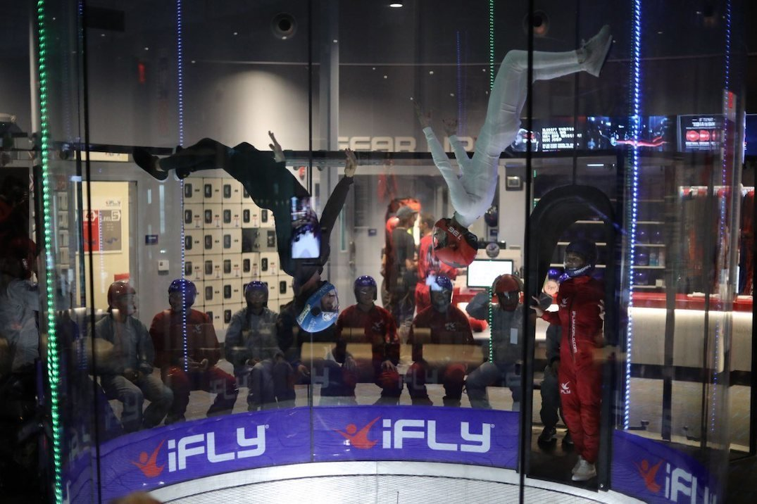 iFly indoor skydiving centre
