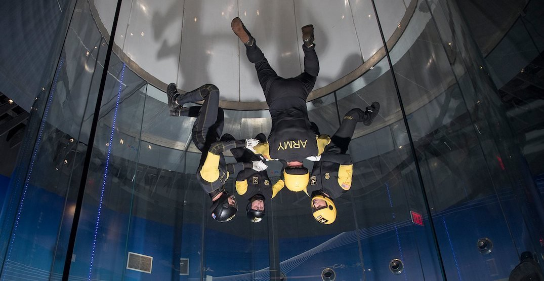 iFly indoor skydiving centre opening in Metro Vancouver in 2020