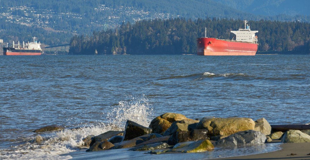 Coast Guard investigating fuel spill in English Bay on Thursday