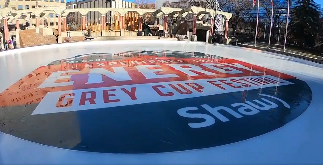 Olympic Plaza skate rentals are FREE next weekend for Grey Cup Festival