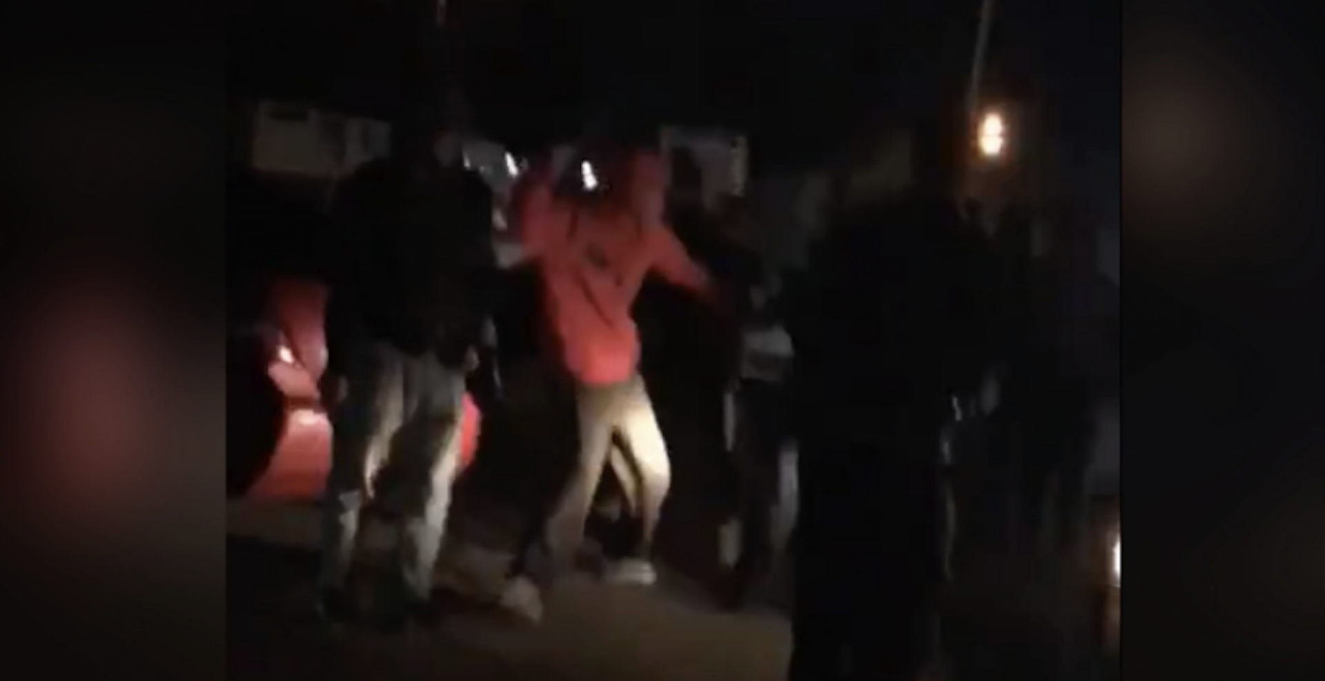 RCMP investigating parking lot mob attack in Surrey (VIDEO)