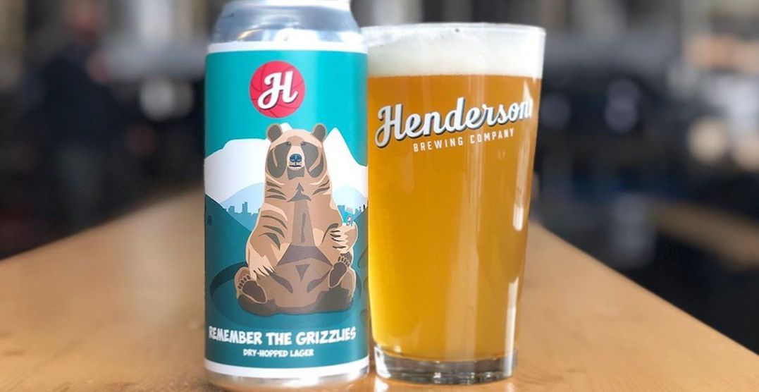 Canadian brewery launches beer dedicated to the Vancouver Grizzlies