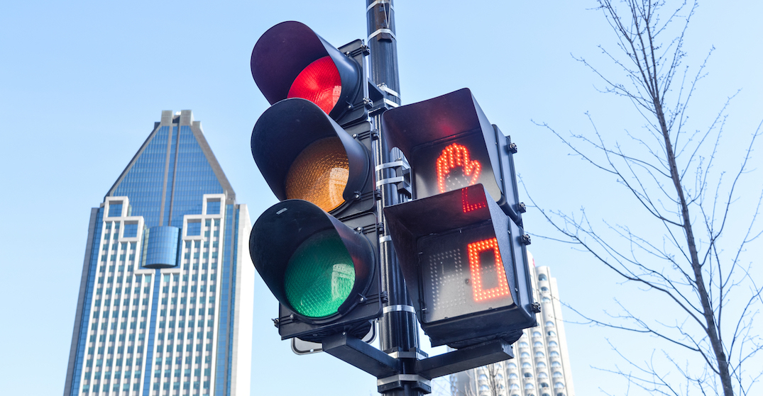Montreal invests $58.5M to add pedestrian crossing signals to all traffic lights