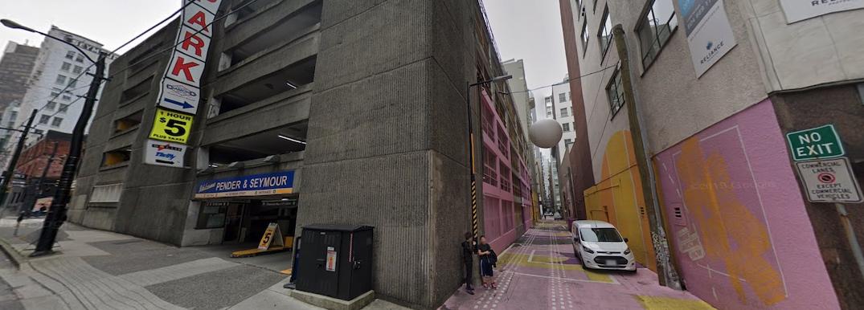601 West Pender Street Vancouver Alley Oop