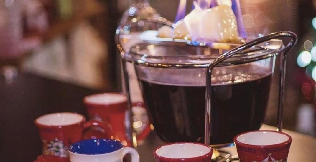 Downtown Vancouver is getting a holiday-themed pop-up bar this week