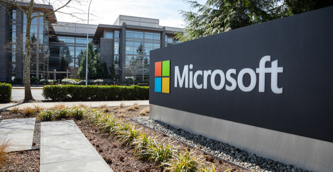 Microsoft in Redmond, Washington / Shutterstock