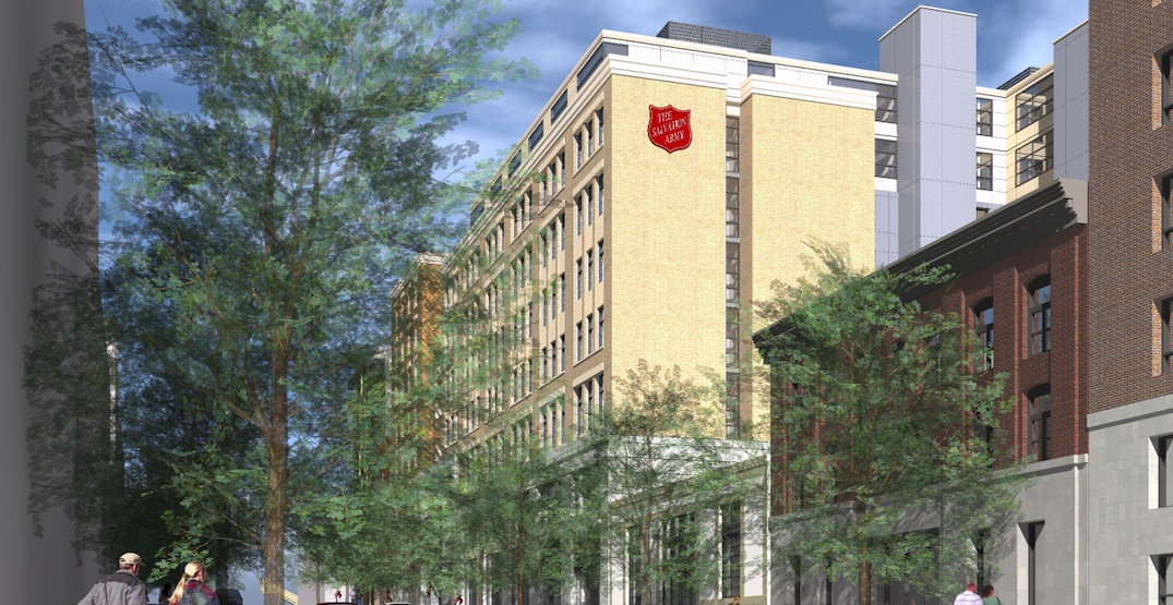 Salvation Army proposes new 9-storey Downtown Eastside community hub