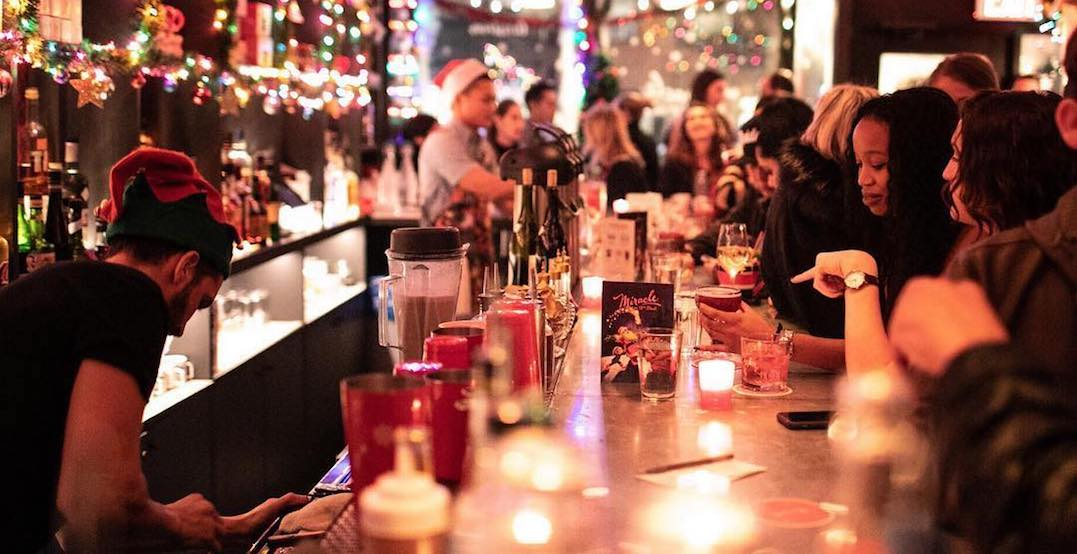 Toronto's Christmas-themed pop-up bar is coming to town next week