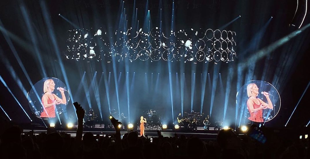 17 pics from Céline Dion's show in Montreal last night (PHOTOS)