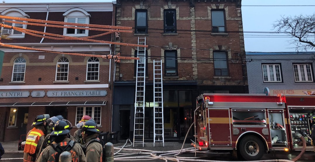 French restaurant temporarily closed after 3 alarm fire in Parkdale
