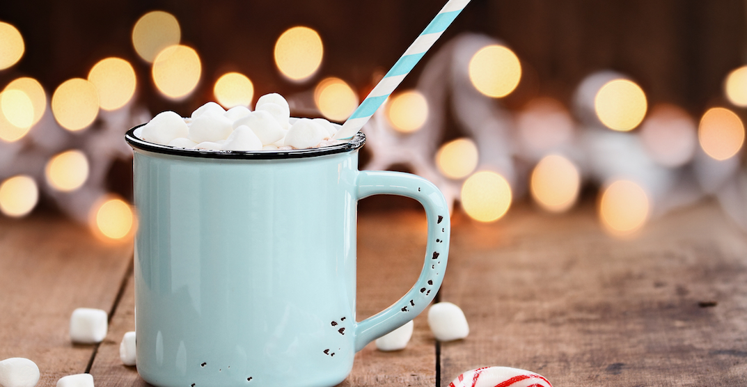 You can get FREE hot cocoa in NDG this weekend