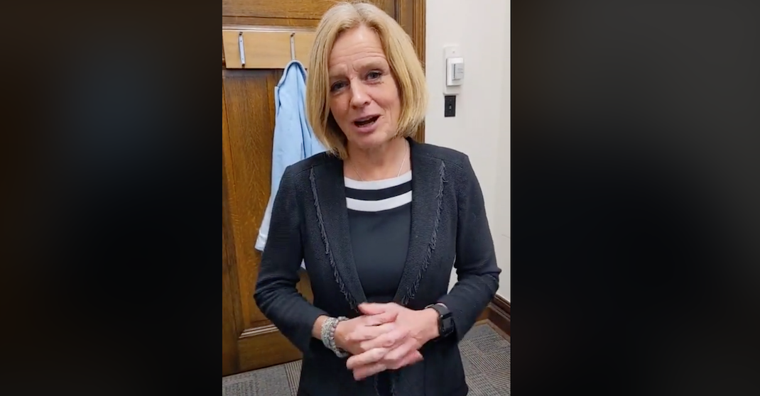 "Rachel Notley: ""I was just kicked out of legislature for calling out house leader"""