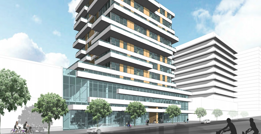 11-storey retail and condo tower proposed for Granville Street in Marpole
