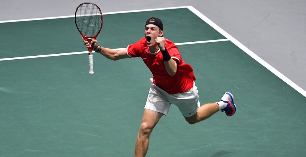Canada scores historic first-ever win over USA at Davis Cup