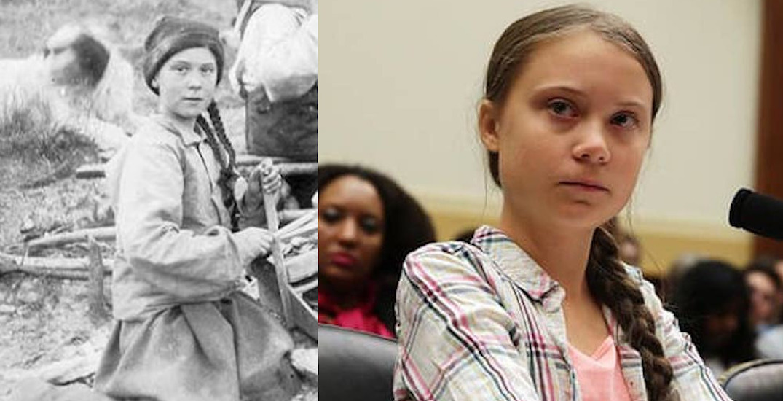 120-year-old Canadian photo shows Greta Thunberg's doppelganger