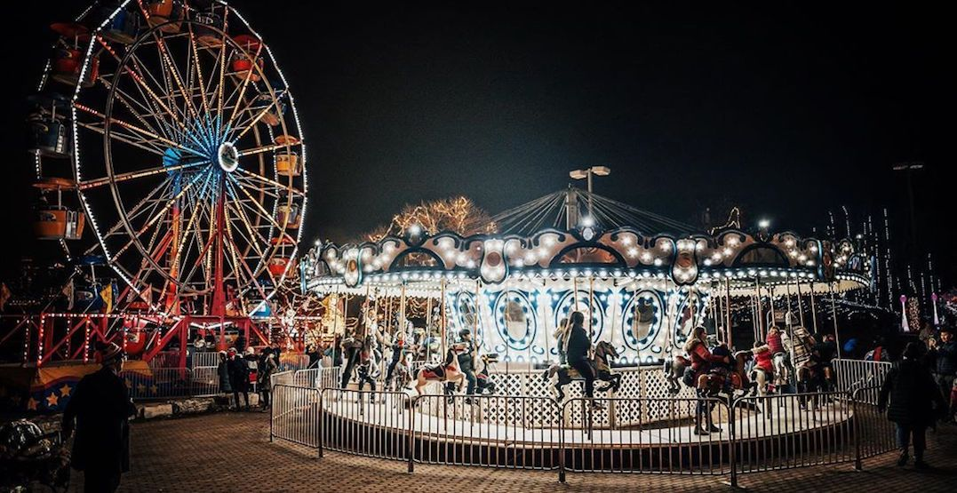 Here's a sneak peek of some holiday foods at Toronto's Aurora Winter Festival this year