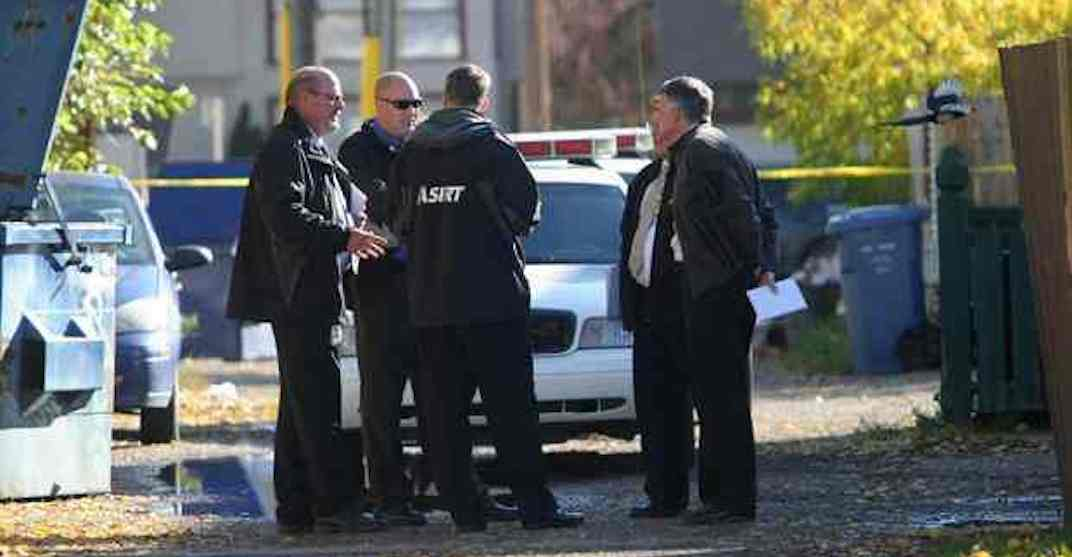 Suspect shot while attempting to forcefully remove police officer's equipment: ASIRT