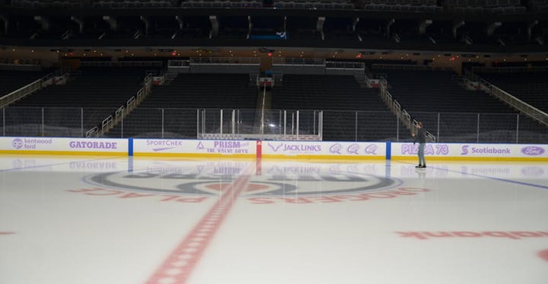 There's a family-friendly skate happening at Rogers Place this weekend