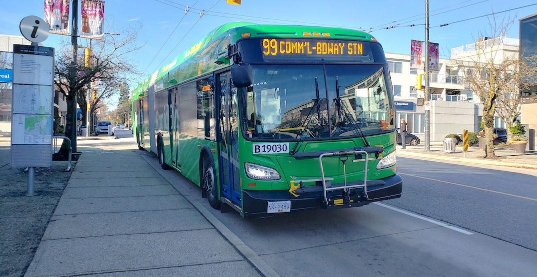 TransLink implements free bus transit and rear-door boarding