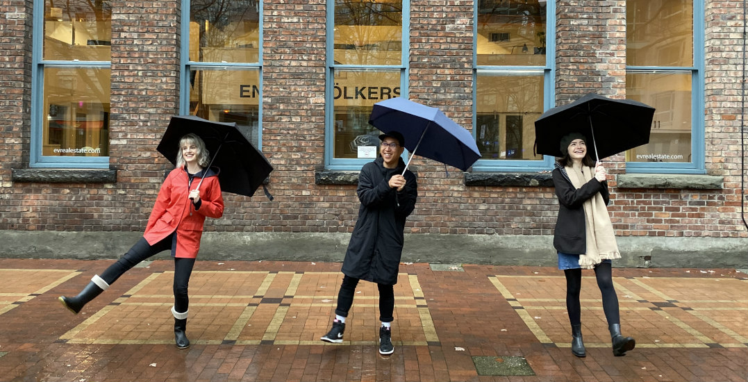 We put this unbreakable umbrella to the test in Vancouver weather