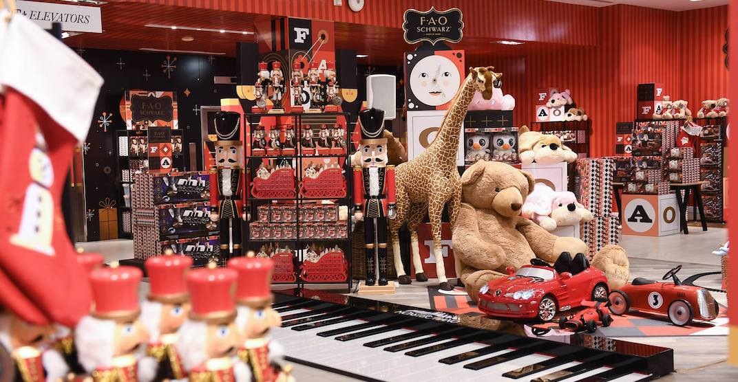 FAO Schwarz is holding pop-up holiday events starting this weekend