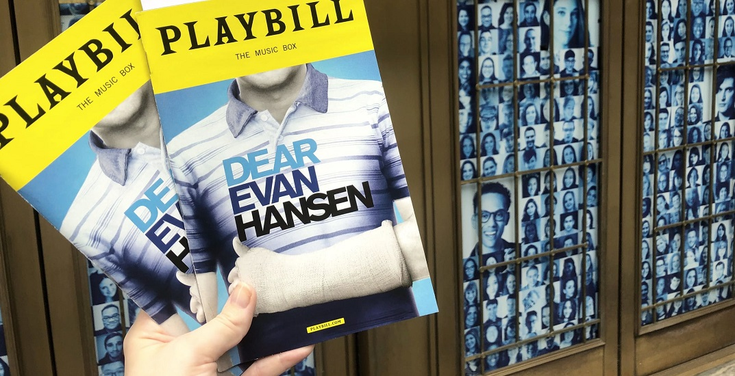 Dear Evan Hansen is coming to Vancouver this winter