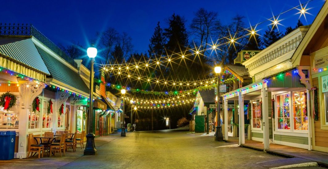This nearby heritage village is transforming into a magical holiday town