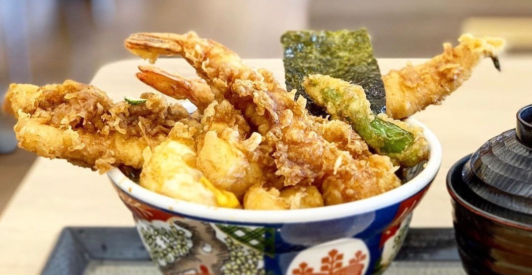 Popular Japanese tempura spot to open first Canadian location in Vancouver (PHOTO)