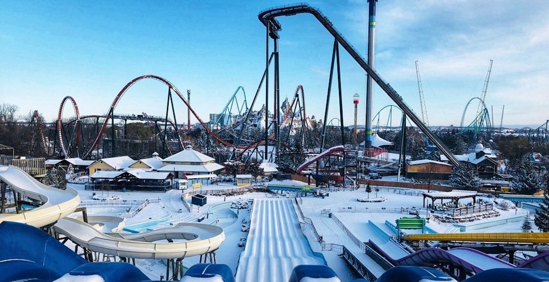 Canada's Wonderland's massive new winter festival opens today