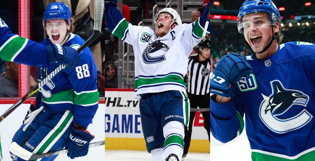 A definitive ranking of Canucks players based on their 'cellies' (VIDEOS)