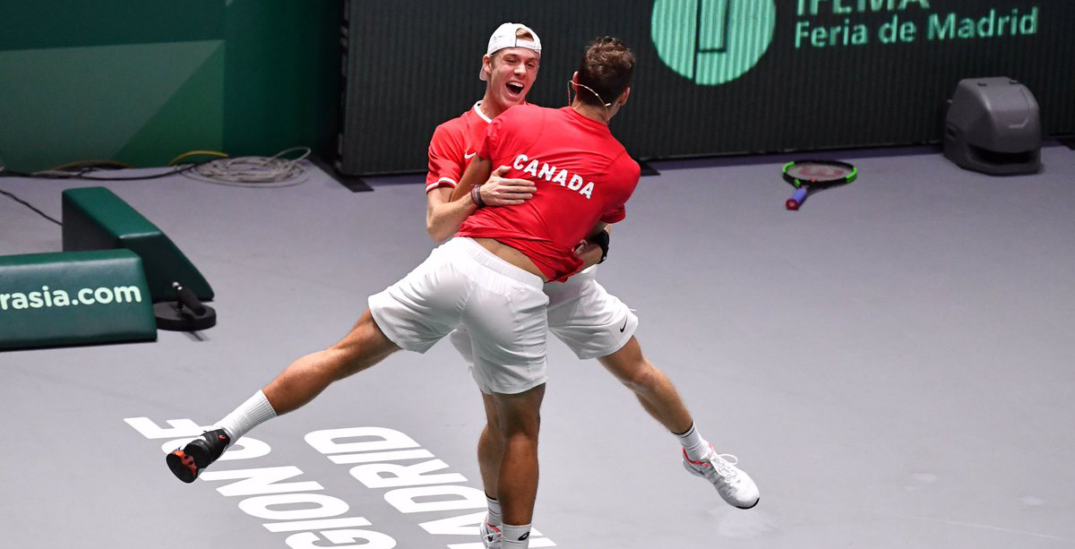 Historic win by Shapovalov and Pospisil sends Canada to Davis Cup final for the first time ever
