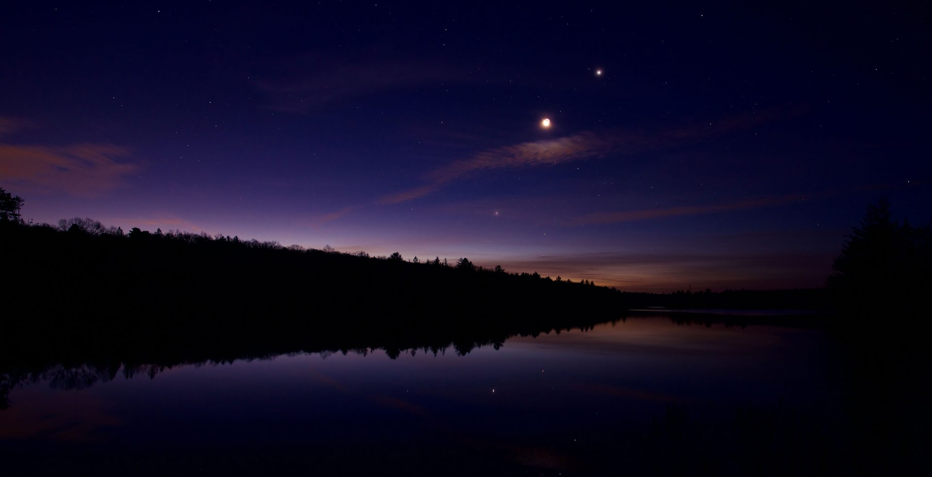 Venus-Jupiter conjunction happening this weekend