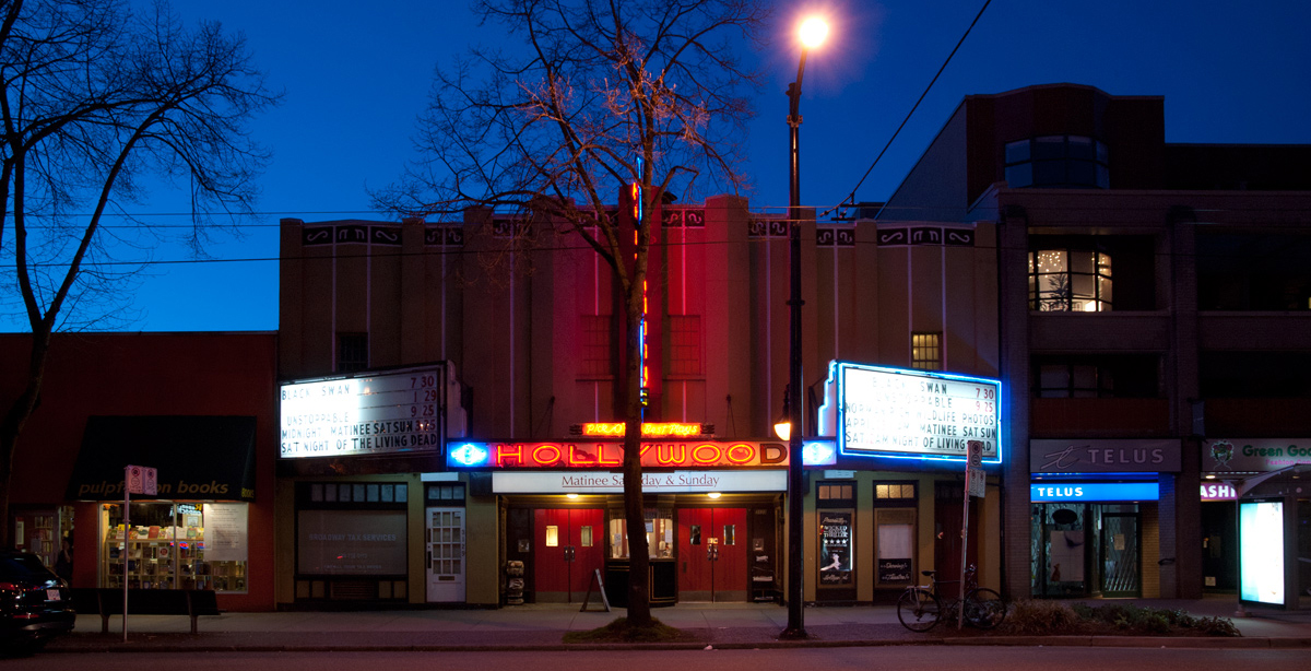 Kitsilano's Hollywood Theatre recommended for liquor licence when it reopens