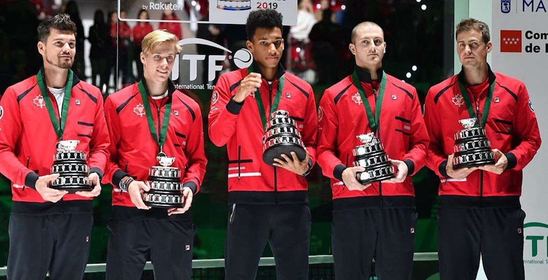 Canada's historic run at the Davis Cup ends in the championship final
